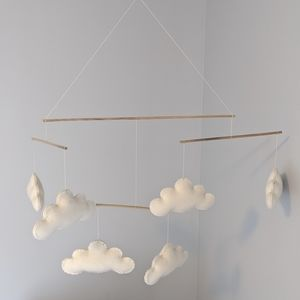 Pottery Barn Kids Clouds Ceiling Mobile
